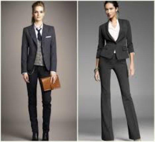 Модные тенденции в женских деловых костюмах