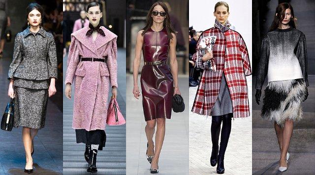 Модные тенденции в осенней моде