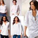 Мода на блузки и женские рубашки