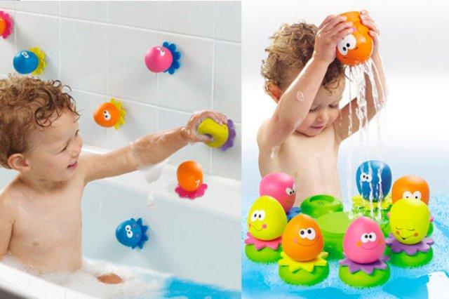 Настолько ли полезны игрушки для купания?