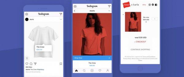Instagram вскоре запустит свою программу для шоппинга