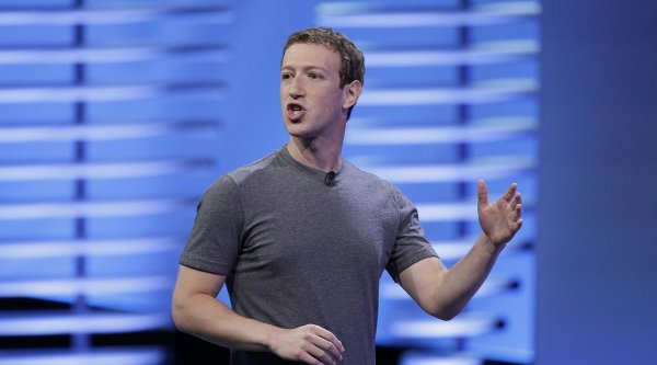 Facebook удаляет сообщения Марка Цукерберга